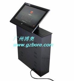 供应19寸显示器液晶屏升降器 角度可调液晶升降器 多媒体会议桌液晶屏升降器