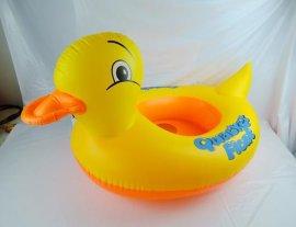 嬰幼兒充氣坐圈 加厚兒童游泳用具 卡通動物戲水浮圈