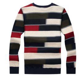 春秋季新款棉质加厚加绒男士保暖内衣运动款