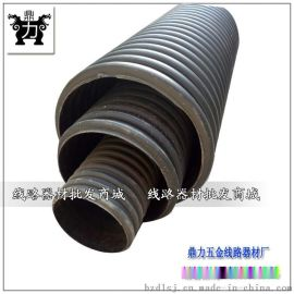 HDPE大口径双壁波纹排污管黑色大口径地埋波纹管