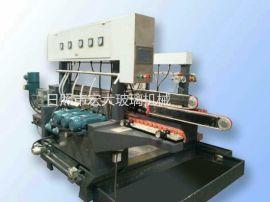 微晶石小型玻璃磨邊機雙邊機