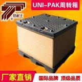 廠家直銷 高強瓦楞紙箱UNI-PAK大型物流週轉箱