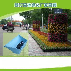 包桥墩柱子立体垂直护栏绿化壁挂式真植物墙蓄水花盆