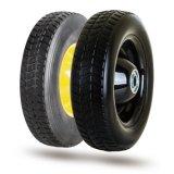 10寸搬运车轮子,半空心橡胶轮(H1055RIB)