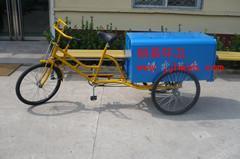 人力镀锌板环卫三轮车,不锈钢保洁三轮车,各种款式环卫三轮车