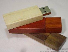 木头u盘定做 木质usb随身碟 创意礼品