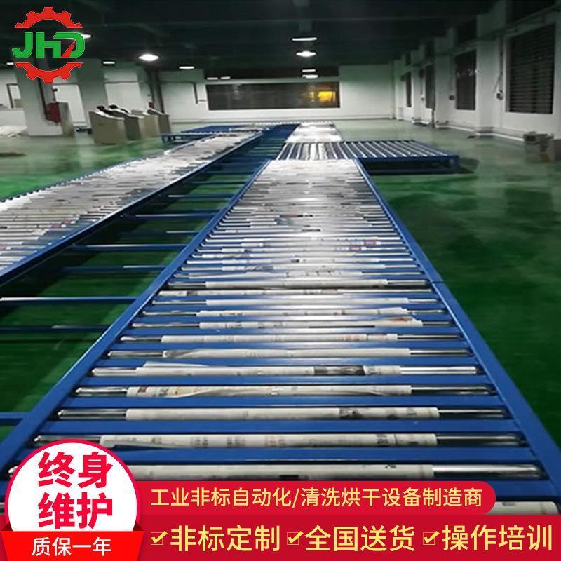 湛江茂名阳江云浮四会市直销流水线转弯滚筒线无动力滚筒线