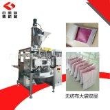 無紡布包裝機 大型超聲波冷封活性炭包無紡布包裝機 廠家直銷