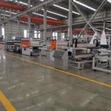 PVC结皮发泡板生产线,半结皮发泡板生产线,共挤芯层发泡板生产线