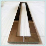 拉手加工定製木門玻璃門酒店會所商場家用不鏽鋼拉手方管定製
