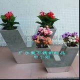 不锈钢室内装饰花盆 商场大堂组合不锈钢花盆工艺制品