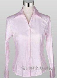 定做批发商务纯色衬衫 男女式衬衫