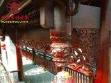 四川廠家防腐吊瓜,撐弓,實木斗拱定製加工
