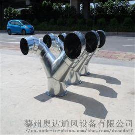 无机玻璃钢风管承压抗压强度高