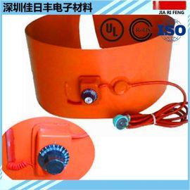 旋钮温控可调温硅胶加热板 电热带加热膜加热片