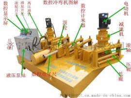 山东方特机械供应工字钢冷弯机