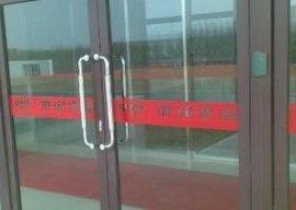 九江维修玻璃门维修更换玻璃门地弹簧,门夹 拉手