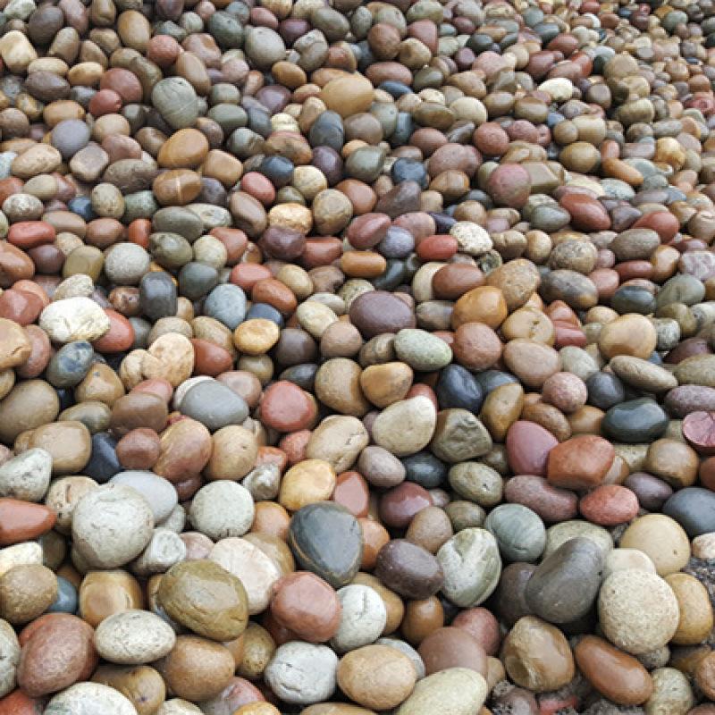 【陕西鹅卵石批发】_天然五彩鹅卵石2-3公分价格。