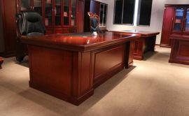 南京浙美供应现代大班台简约时尚老板办公桌大班桌经理主管桌厂家直销办公家具