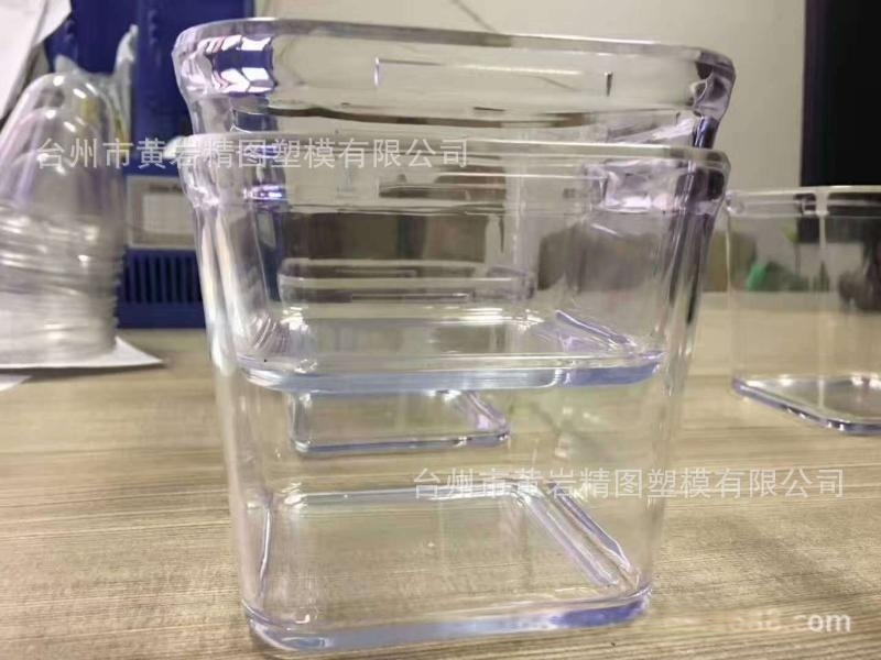 高級塑料透名亞克力食品包裝罐 PET塑料罐