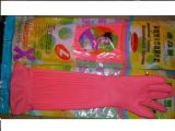 台湾康乃馨乳胶手套(加长18寸)