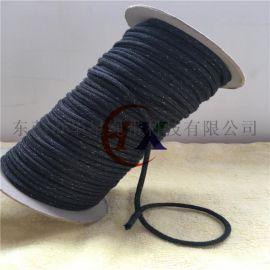 厂家直销银纤维导电绳 电子产品导电挂绳 环保品质