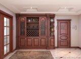 廣州現代中式酒櫃實木家具定制大智優品家居