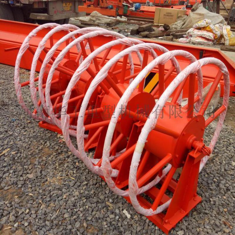 垂直卷取16平方电动式电缆卷筒 电动平车电缆卷线器