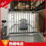 透明水晶折叠门 卷帘门 商场店铺PC推拉折叠门 广州铝合金折闸门