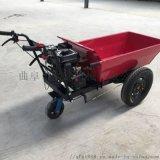 加厚钢管汽油动力运输车汽油手推车 搬运灰斗车