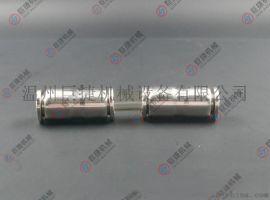 大量现货不锈钢PU双插直通 快插直通 304气源直通接头