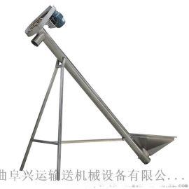 移动型不锈钢提升机  面粉管式上料机  连续送料机