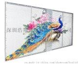 浩翔TL3-7 GOB高防护户内外防水LED透明屏
