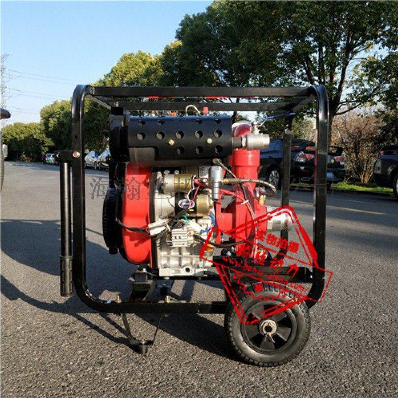 高扬程大流量2.5寸柴油机水泵