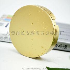 喷漆金色带镜子假睫毛盒