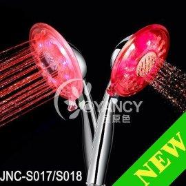 温控变色LED淋浴花洒
