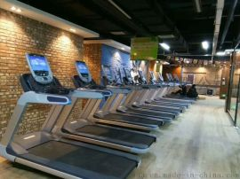 新款商用跑步机A有氧健身器材A按键液晶跑步机