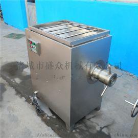 全自动冻肉绞肉机鲜肉绞肉机