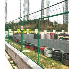 广西公路双丝边护栏网丨框架护栏网丨道路隔离网厂家