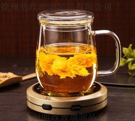 花茶杯水杯茶具杯子女喝水带盖茶杯办公室过滤泡茶杯
