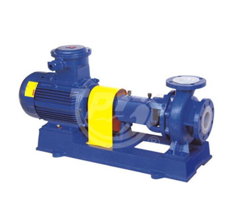 上海太平洋IHF單級單吸式氟塑料合金化工離心泵