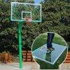 地埋固定籃球架 165/220固定圓管籃球架廠家