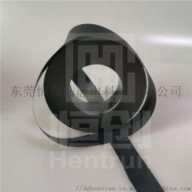 PE黑色导电载带|防静电PCB线路板保护带|黑色导电卷膜