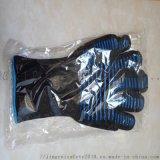 BBQ耐高溫手套 隔熱雙面矽膠防滑手套