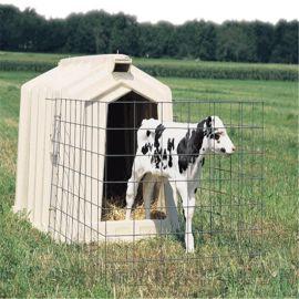 牧場專用滾塑犢牛島 不透光耐曬小牛屋 滾塑開模定制