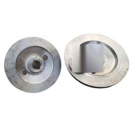孔19*40,外径115,止口65 铸造不锈钢轴盘
