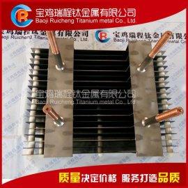 污水处理用贵金属涂层钛阳极组 钛电极