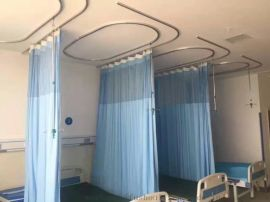 潤格鋁合金醫用隔簾軌道 輸液軌道 電泳烤漆病房簾軌