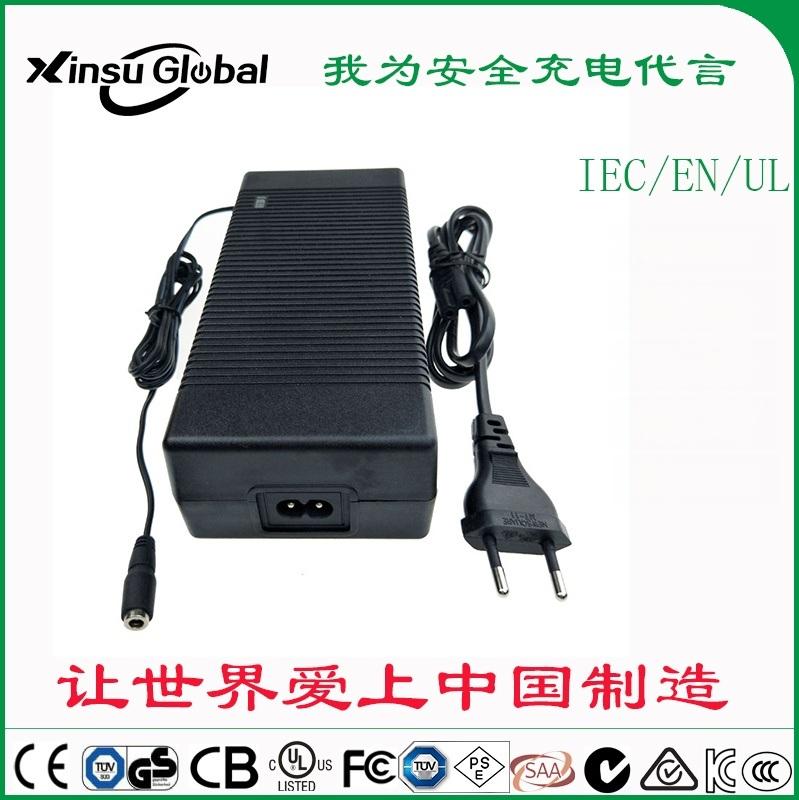 IEC62368标准认证 58.8V3.5A锂电池充电器