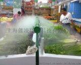 超市蔬果加湿保鲜加湿器,蔬菜架超声波喷雾器